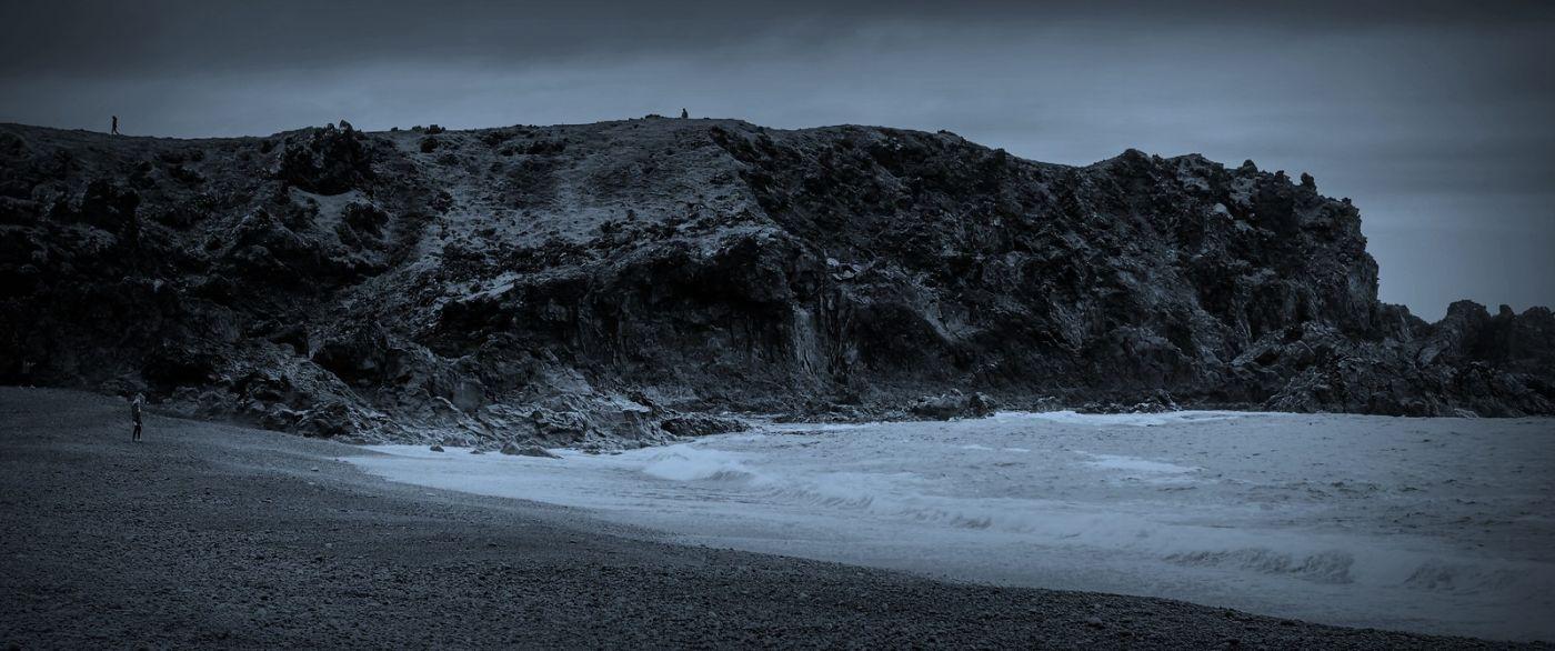 冰岛Djúpalónssandur沙滩,标志性的礁石_图1-16