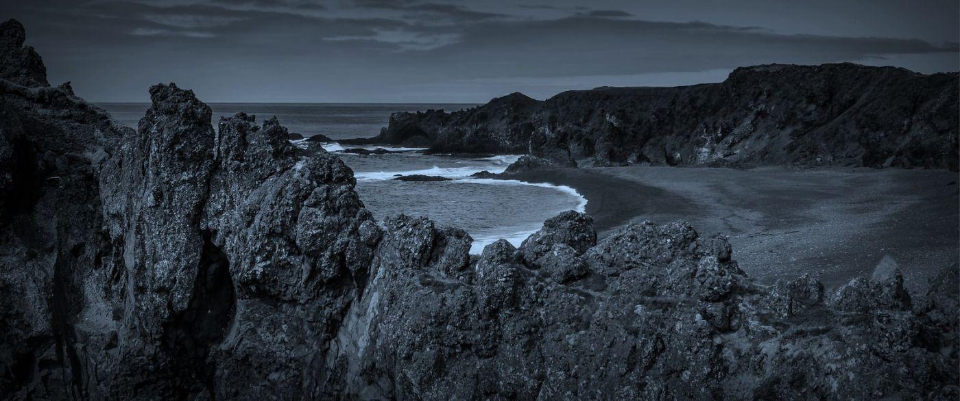 冰岛Djúpalónssandur沙滩,标志性的礁石_图1-18