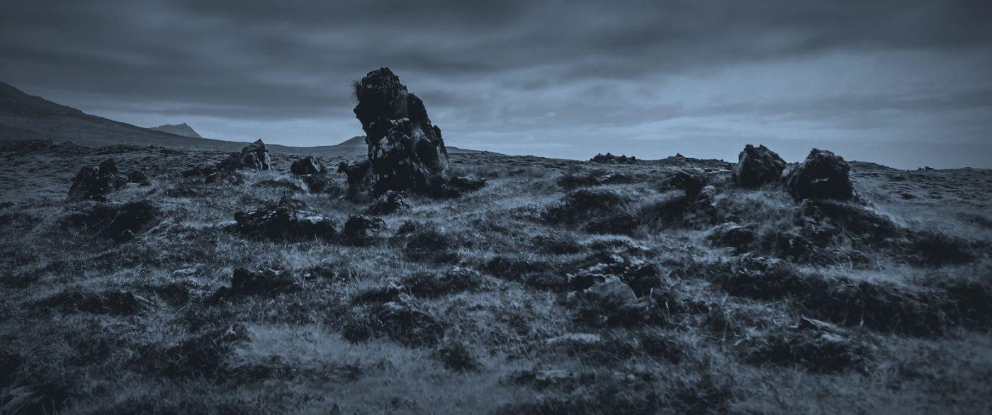 冰岛Djúpalónssandur沙滩,标志性的礁石_图1-20