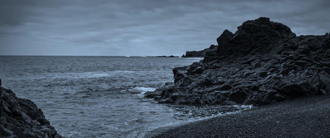 冰岛Djúpalónssandur沙滩,标志性的礁石_图1-24