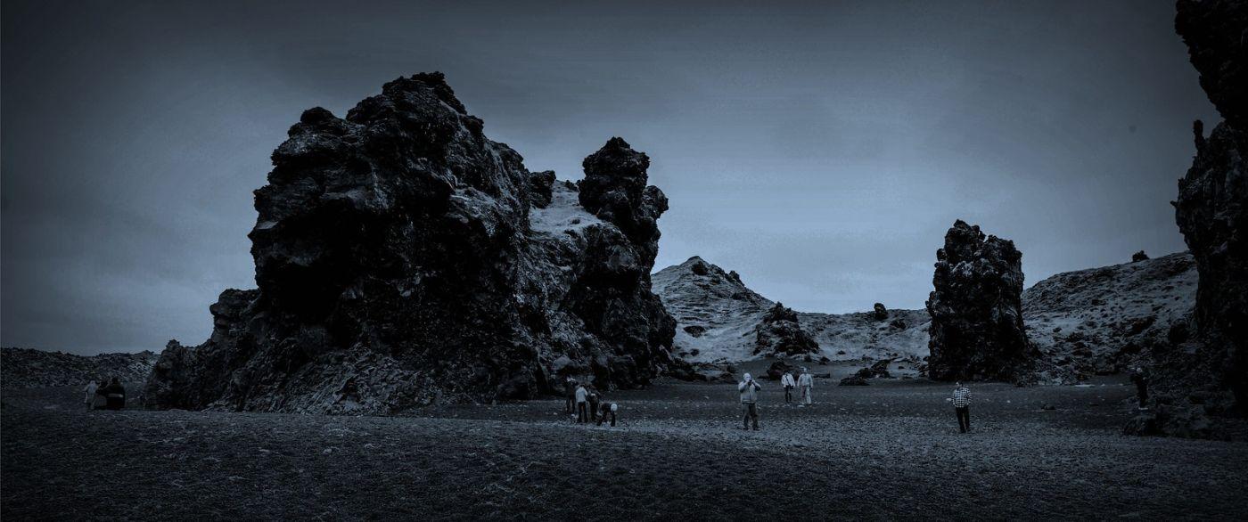 冰岛Djúpalónssandur沙滩,标志性的礁石_图1-23