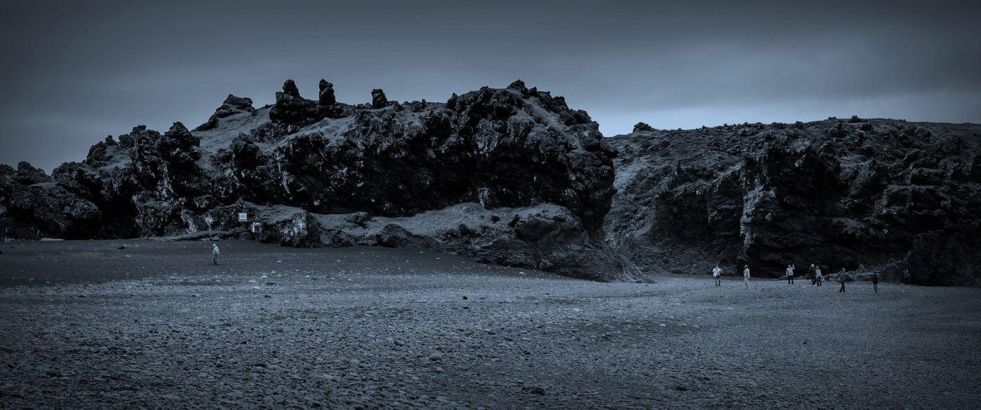 冰岛Djúpalónssandur沙滩,标志性的礁石_图1-21