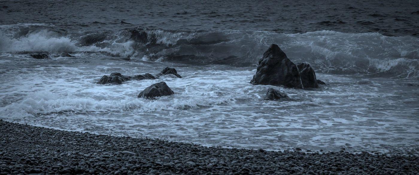 冰岛Djúpalónssandur沙滩,标志性的礁石_图1-22