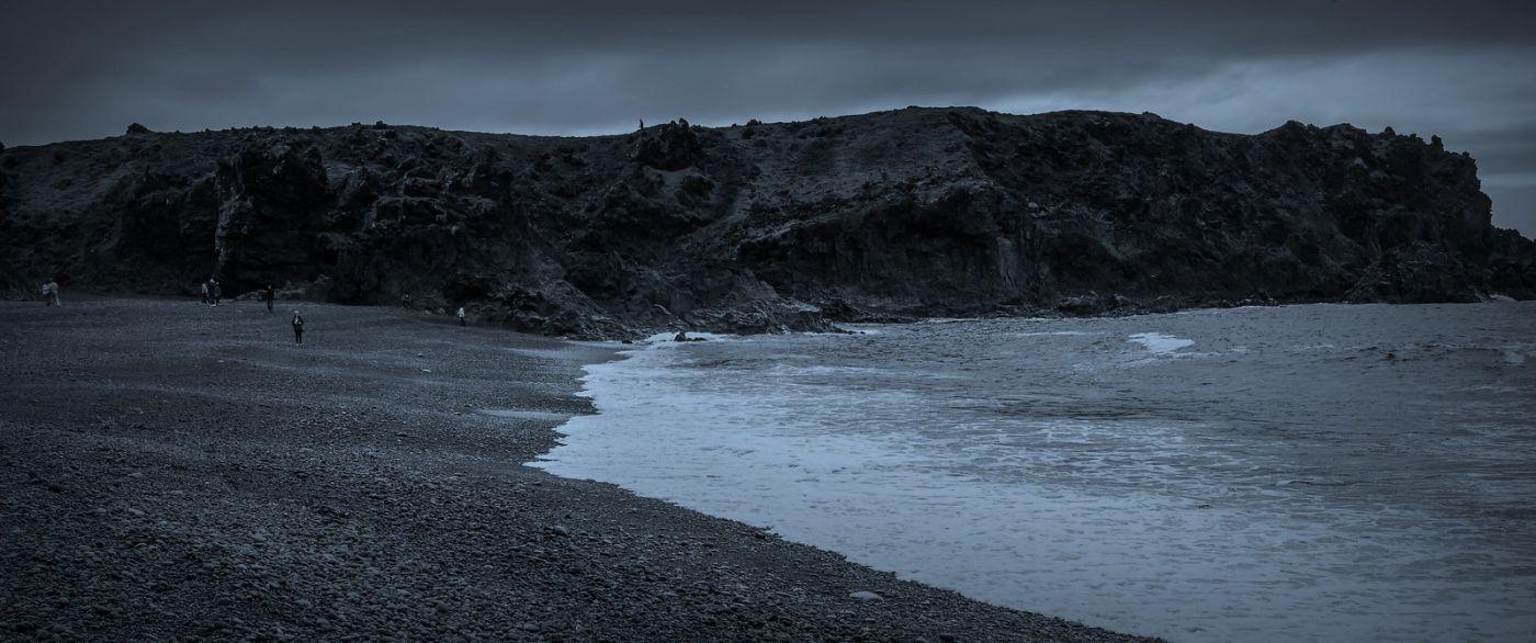 冰岛Djúpalónssandur沙滩,标志性的礁石_图1-28