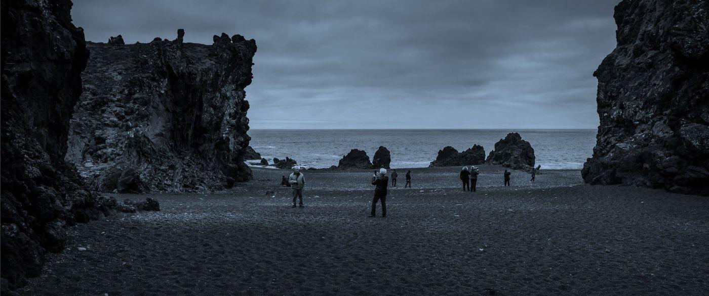 冰岛Djúpalónssandur沙滩,标志性的礁石_图1-31