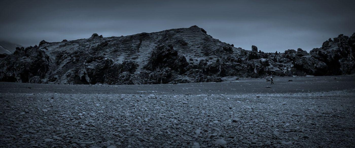 冰岛Djúpalónssandur沙滩,标志性的礁石_图1-29