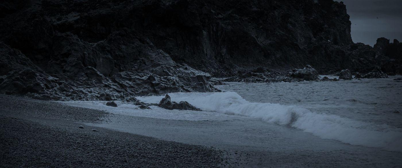 冰岛Djúpalónssandur沙滩,标志性的礁石_图1-33
