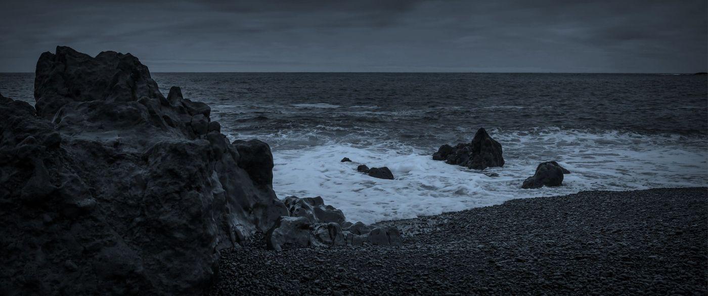 冰岛Djúpalónssandur沙滩,标志性的礁石_图1-34