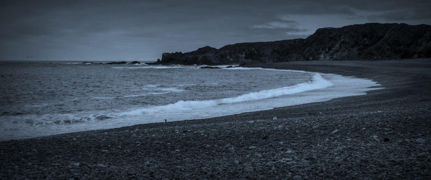 冰岛Djúpalónssandur沙滩,标志性的礁石_图1-38