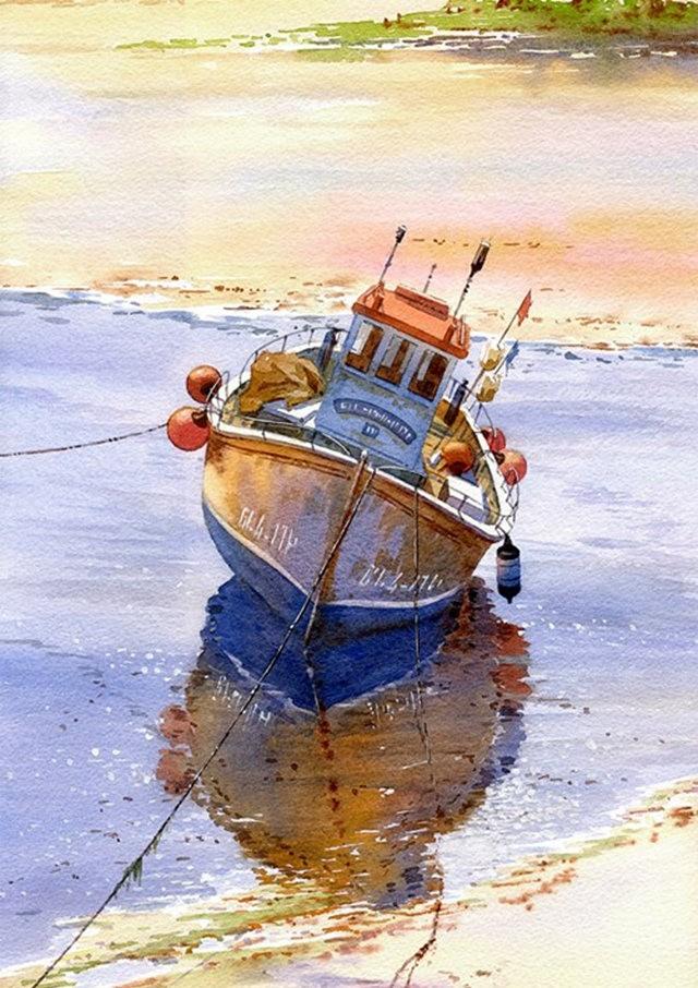 西班牙水彩画家--马丁.福斯蒂诺.冈萨雷斯_图1-4