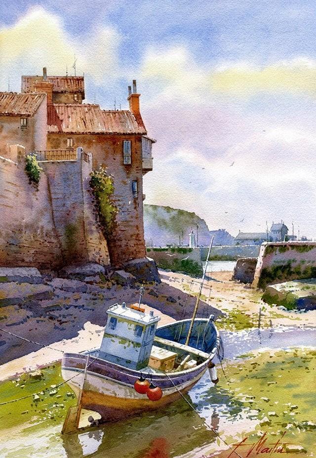 西班牙水彩画家--马丁.福斯蒂诺.冈萨雷斯_图1-5