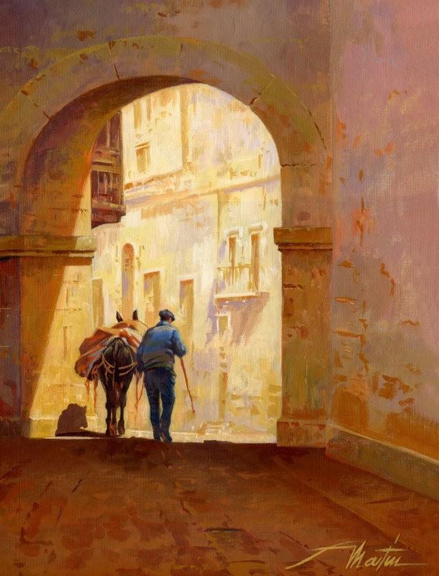 西班牙水彩画家--马丁.福斯蒂诺.冈萨雷斯_图1-8