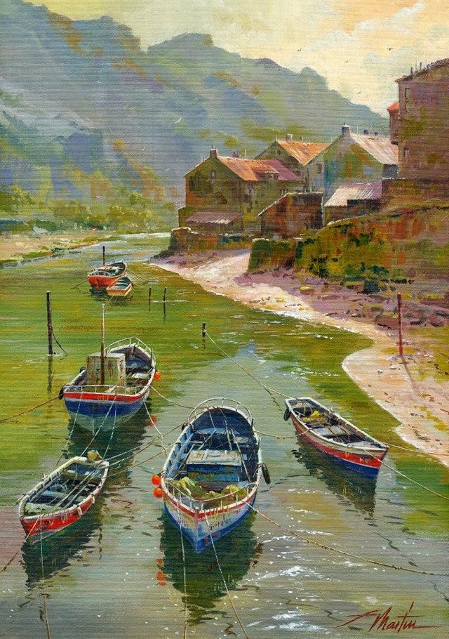 西班牙水彩画家--马丁.福斯蒂诺.冈萨雷斯_图1-10