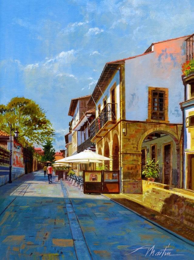 西班牙水彩画家--马丁.福斯蒂诺.冈萨雷斯_图1-13