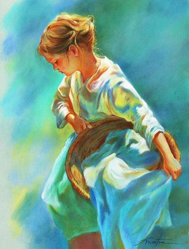 西班牙水彩画家--马丁.福斯蒂诺.冈萨雷斯_图1-14