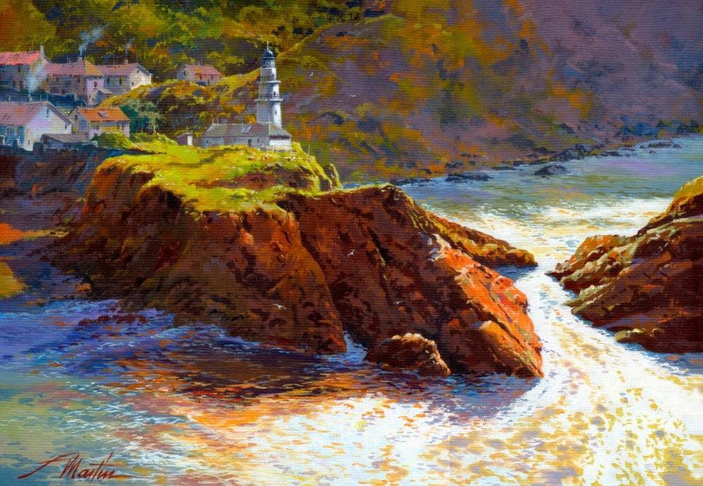 西班牙水彩画家--马丁.福斯蒂诺.冈萨雷斯_图1-16