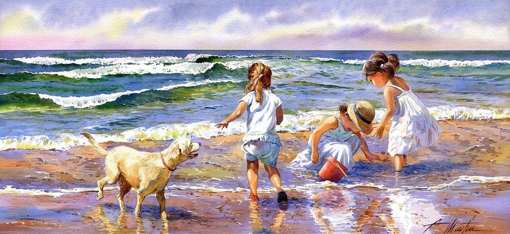 西班牙水彩画家--马丁.福斯蒂诺.冈萨雷斯_图1-17