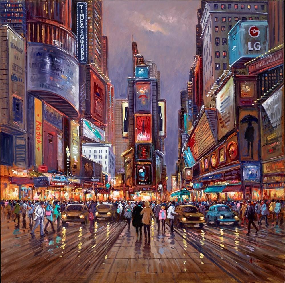 画家Henderson Cisz的城市画作_图1-1