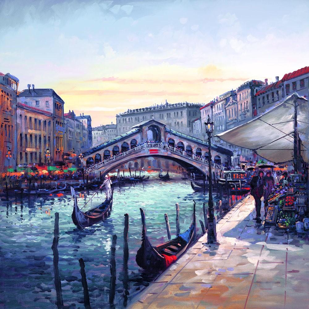 画家Henderson Cisz的城市画作_图1-2
