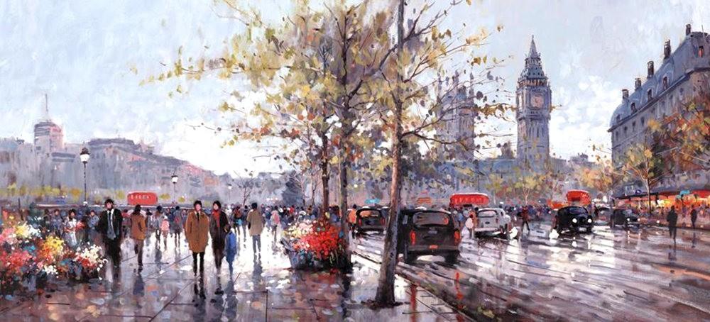 画家Henderson Cisz的城市画作_图1-6