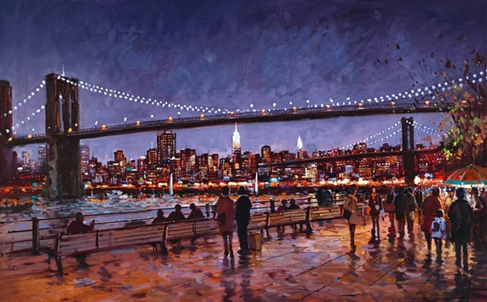 画家Henderson Cisz的城市画作_图1-8
