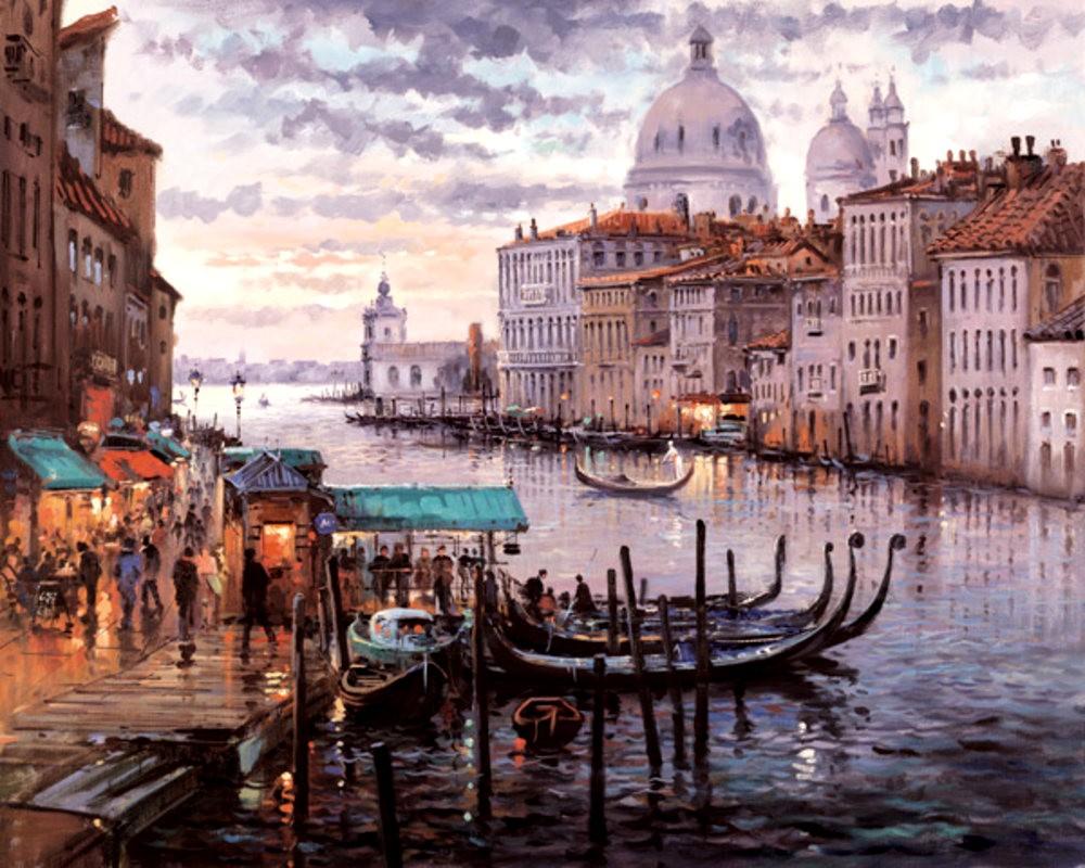 画家Henderson Cisz的城市画作_图1-9