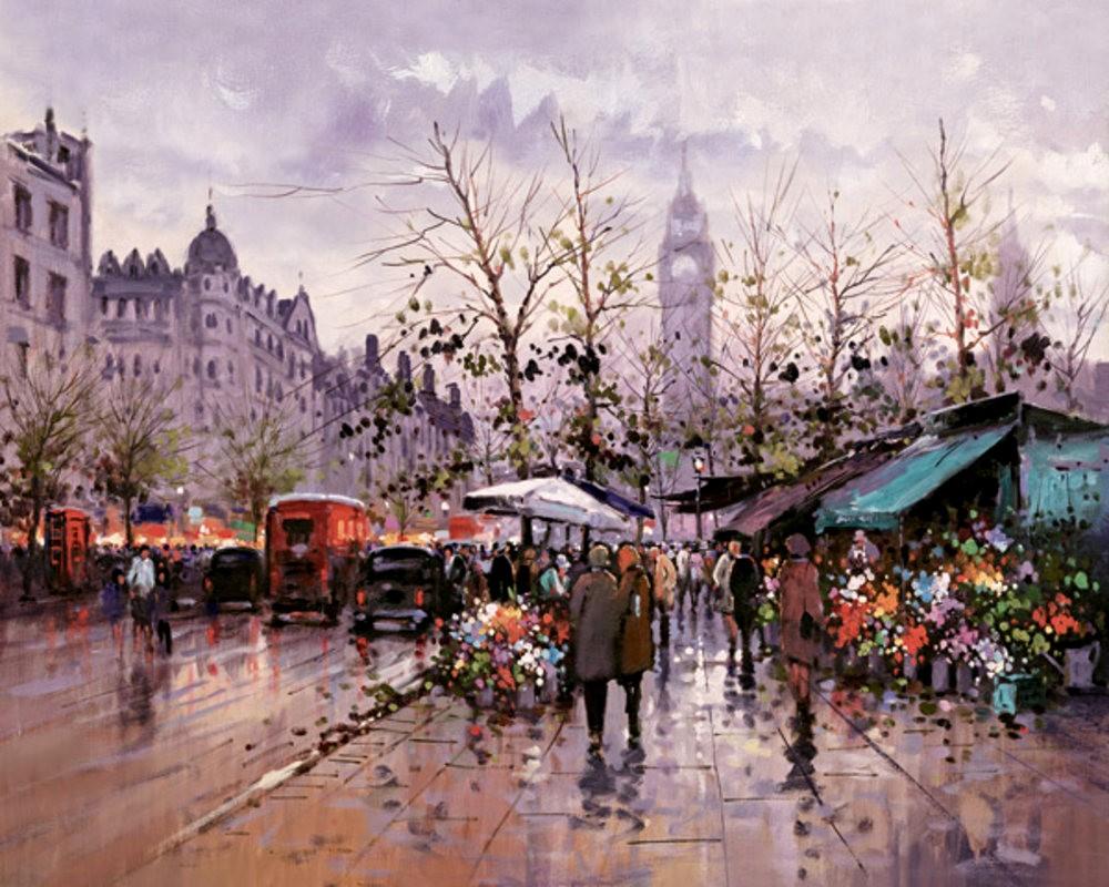 画家Henderson Cisz的城市画作_图1-10