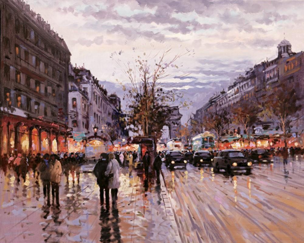 画家Henderson Cisz的城市画作_图1-11