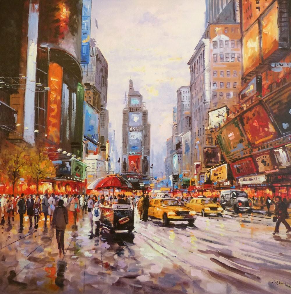 画家Henderson Cisz的城市画作_图1-12