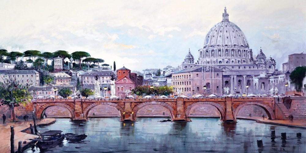画家Henderson Cisz的城市画作_图1-13