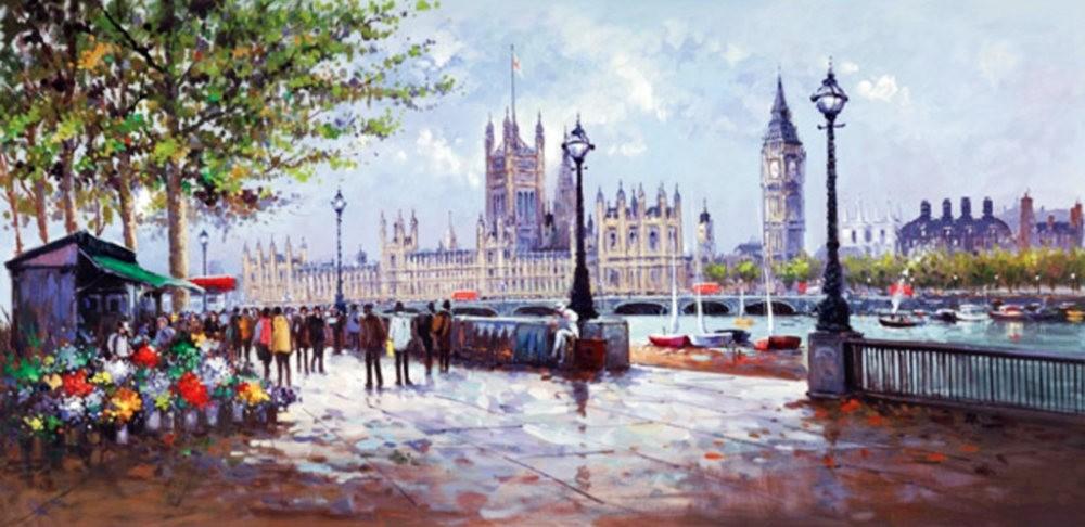 画家Henderson Cisz的城市画作_图1-15