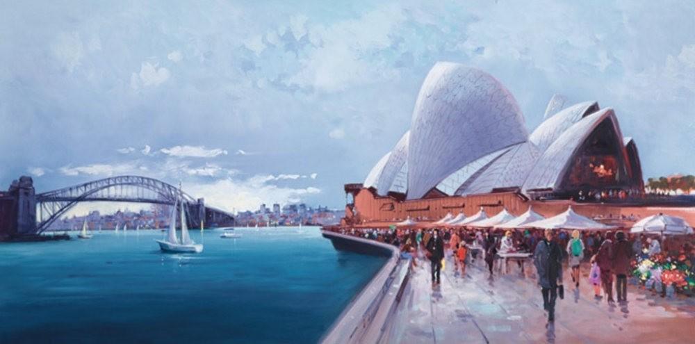 画家Henderson Cisz的城市画作_图1-16