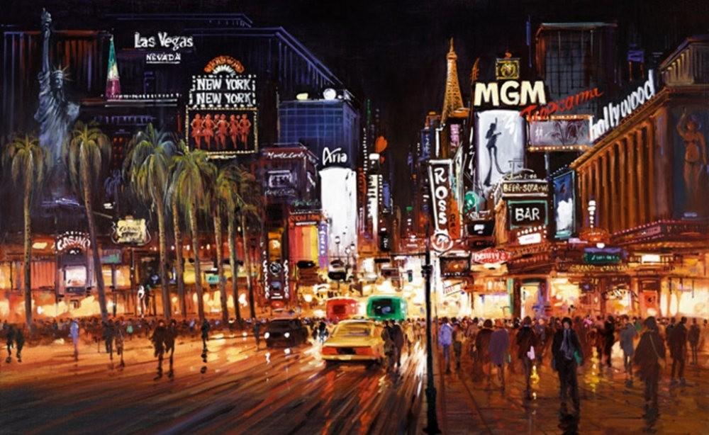 画家Henderson Cisz的城市画作_图1-17