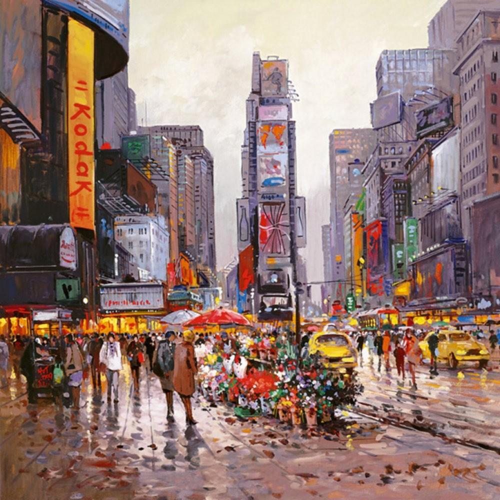 画家Henderson Cisz的城市画作_图1-18