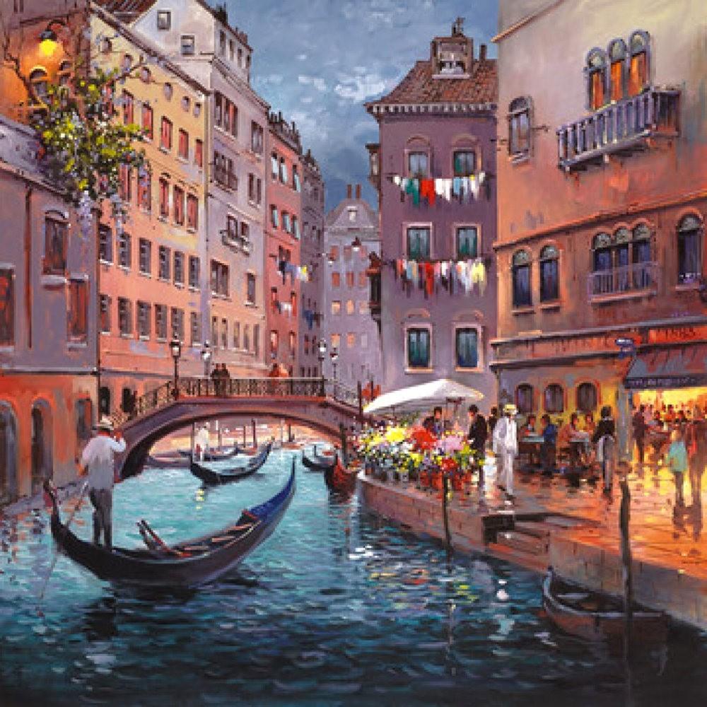 画家Henderson Cisz的城市画作_图1-19