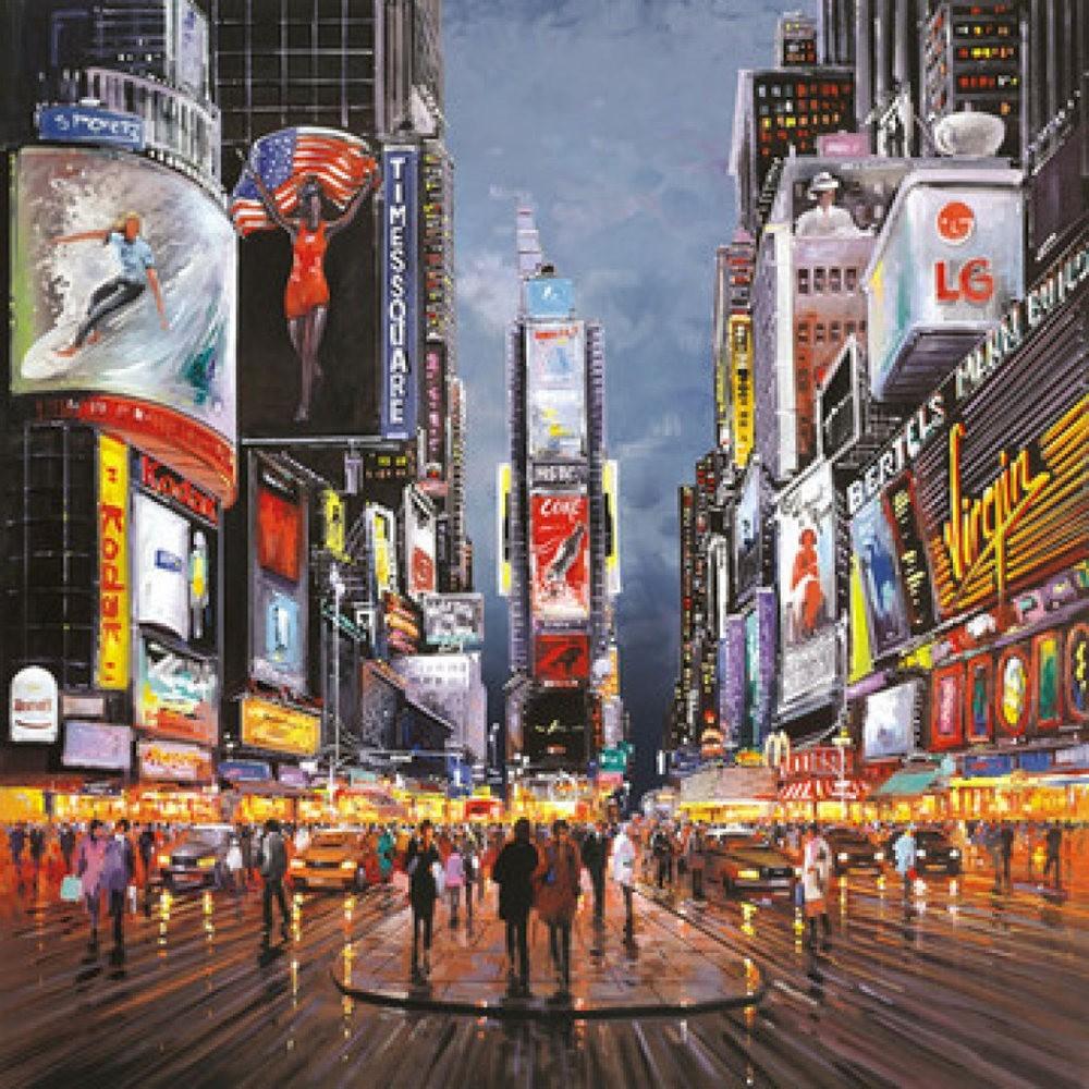 画家Henderson Cisz的城市画作_图1-20