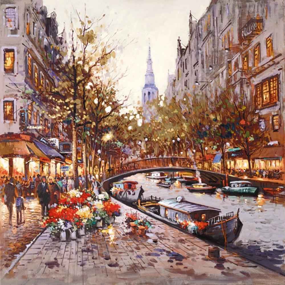 画家Henderson Cisz的城市画作_图1-21