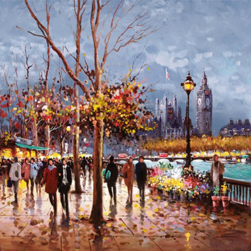 画家Henderson Cisz的城市画作_图1-22