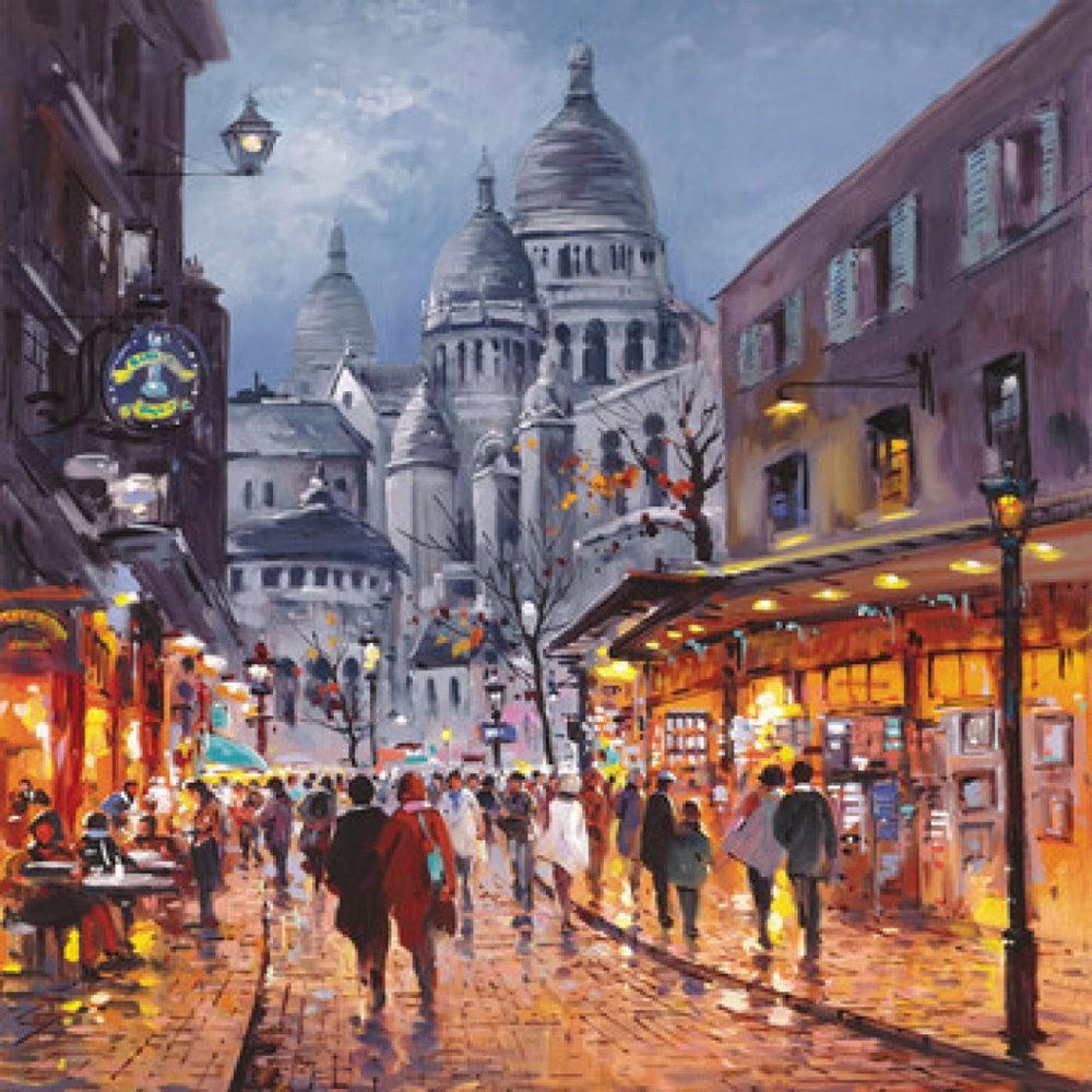 画家Henderson Cisz的城市画作_图1-23