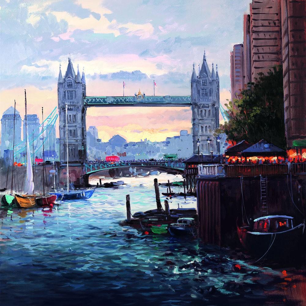 画家Henderson Cisz的城市画作_图1-24