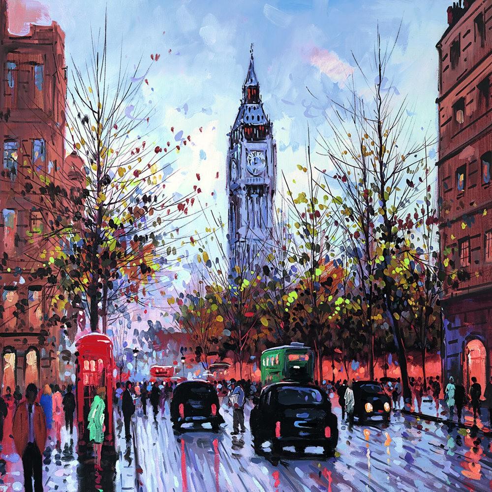 画家Henderson Cisz的城市画作_图1-25