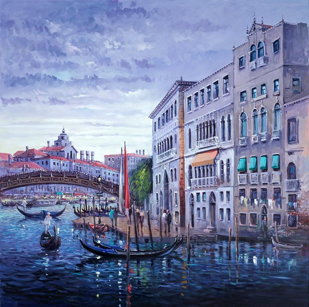 画家Henderson Cisz的城市画作_图1-26