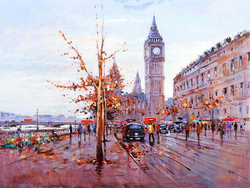 画家Henderson Cisz的城市画作_图1-27