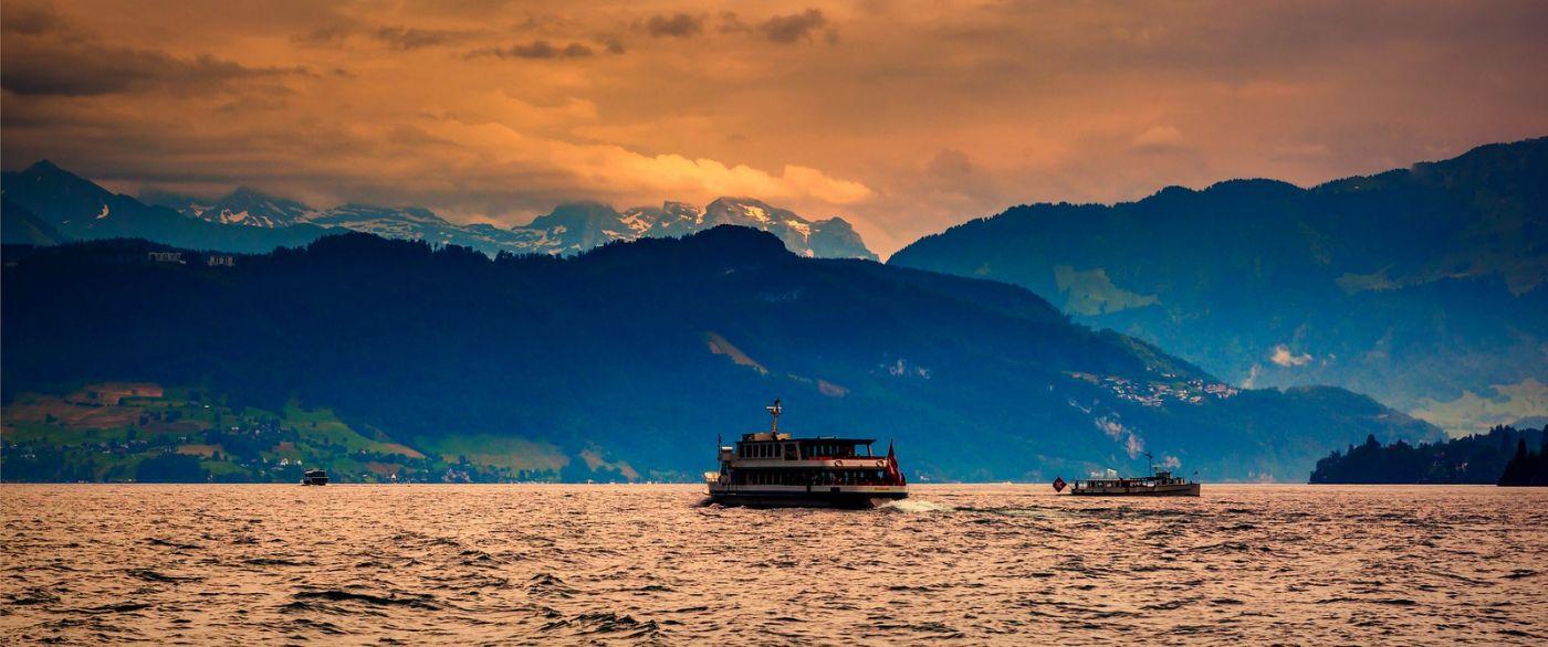 瑞士卢塞恩(Lucerne),拨开云雾见光明_图1-34