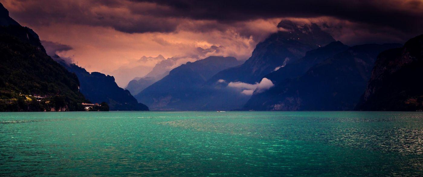 瑞士卢塞恩(Lucerne),拨开云雾见光明_图1-27