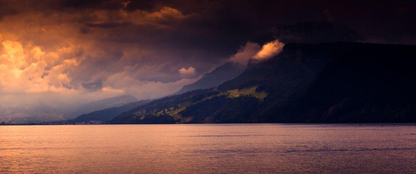 瑞士卢塞恩(Lucerne),拨开云雾见光明_图1-23