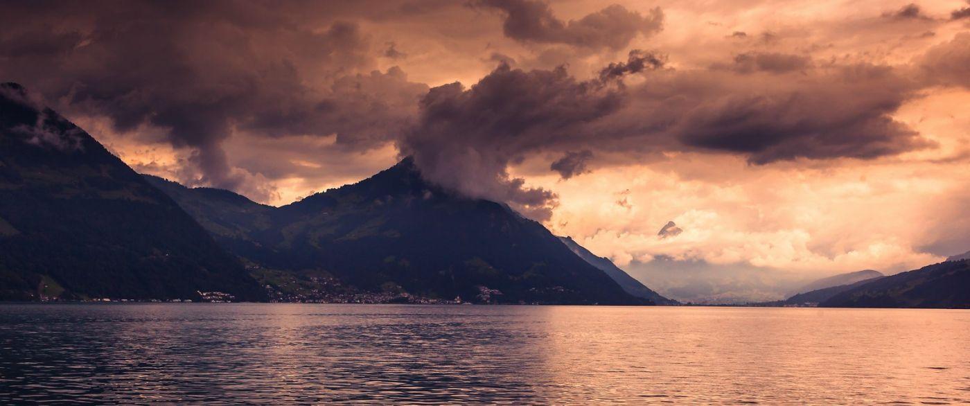 瑞士卢塞恩(Lucerne),拨开云雾见光明_图1-2