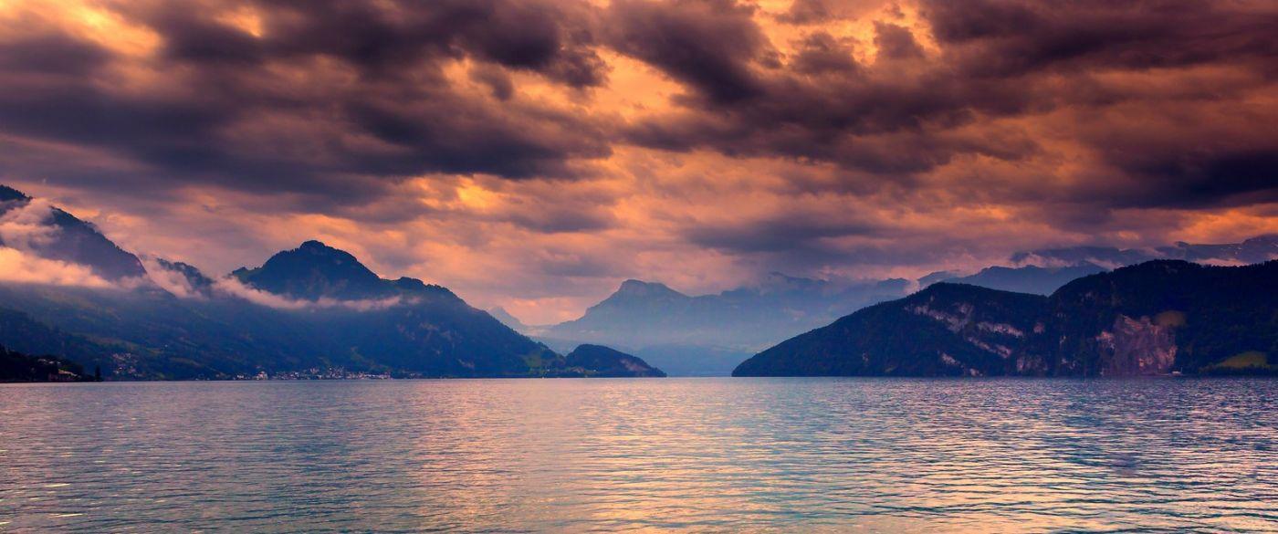 瑞士卢塞恩(Lucerne),拨开云雾见光明_图1-4