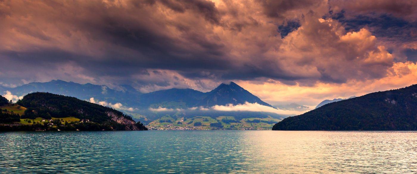 瑞士卢塞恩(Lucerne),拨开云雾见光明_图1-5