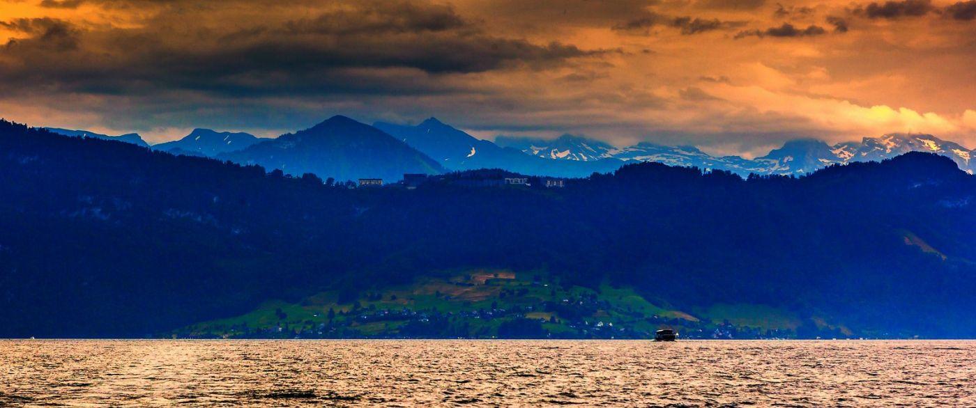 瑞士卢塞恩(Lucerne),拨开云雾见光明_图1-10
